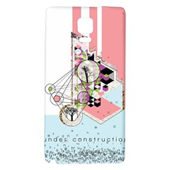 Under Construction Galaxy Note 4 Back Case