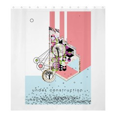 Under Construction Shower Curtain 66  x 72  (Large)