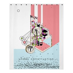 Under Construction Shower Curtain 60  x 72  (Medium)