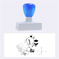 Under Construction Rubber Stamps (Large)