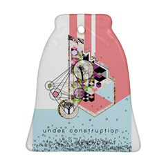 Under Construction Bell Ornament (2 Sides)