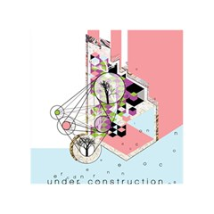 Under Construction Birthday Cake 3d Greeting Card (7x5)