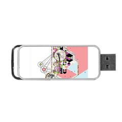 Under Construction Portable Usb Flash (two Sides)