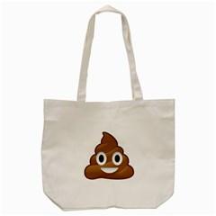 Poop Tote Bag (cream)