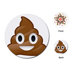 Poop Playing Cards (Round)