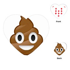 Poop Playing Cards (Heart)