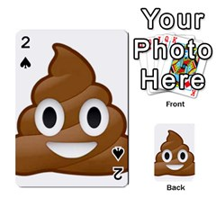 Poop Playing Cards 54 Designs