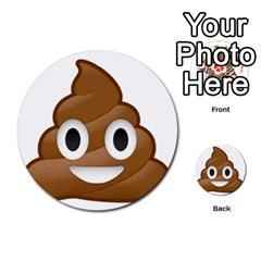 Poop Multi-purpose Cards (Round)