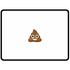Poop Fleece Blanket (Large)
