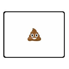 Poop Fleece Blanket (small)
