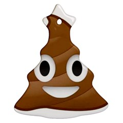 Poop Christmas Tree Ornament (2 Sides)