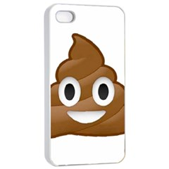 Poop Apple iPhone 4/4s Seamless Case (White)