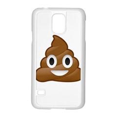 Poop Samsung Galaxy S5 Case (White)