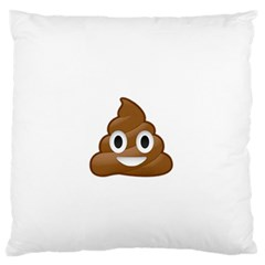 Poop Standard Flano Cushion Cases (one Side)