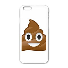 Poop Apple Iphone 6 White Enamel Case
