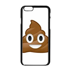 Poop Apple iPhone 6 Black Enamel Case