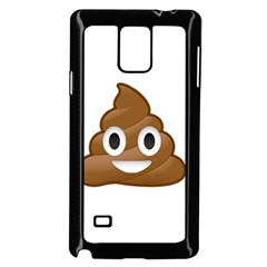 Poop Samsung Galaxy Note 4 Case (Black)