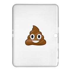 Poop Samsung Galaxy Tab 4 (10 1 ) Hardshell Case