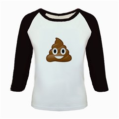 Poop Kids Baseball Jerseys