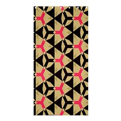 Shapes in triangles patternShower Curtain 36  x 72