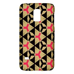 Shapes in triangles patternSamsung Galaxy S5 Mini Hardshell Case