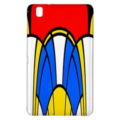 Colorful distorted shapes	Samsung Galaxy Tab Pro 8.4 Hardshell Case