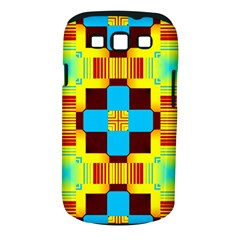 Abstract Yellow Flowers Samsung Galaxy S Iii Classic Hardshell Case (pc+silicone)