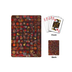 Floating Squares Playing Cards (mini)