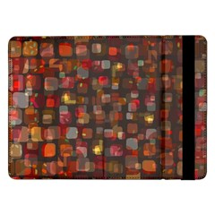 Floating Squares	samsung Galaxy Tab Pro 12 2  Flip Case