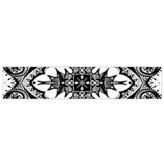 Doodle Cross  Flano Scarf (Small)