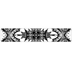 Doodle Cross  Flano Scarf (large)