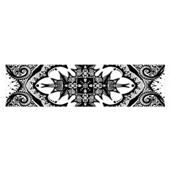 Doodle Cross  Satin Scarf (Oblong)