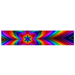Rainbow Flower Flano Scarf (Small)