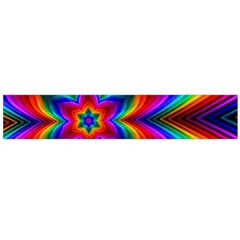 Rainbow Flower Flano Scarf (Large)