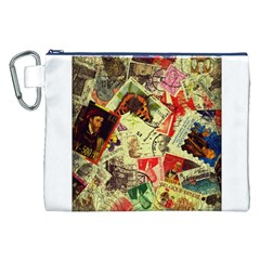 Stamps Canvas Cosmetic Bag (XXL)