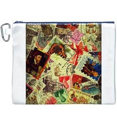 Stamps Canvas Cosmetic Bag (XXXL)