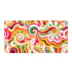 Sunshine Swirls Satin Wrap