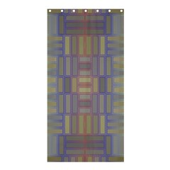 Gradient Rectangles	shower Curtain 36  X 72
