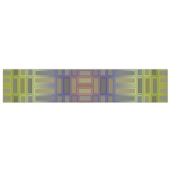 Gradient rectangles Flano Scarf