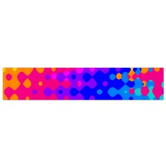 Totally Trippy Hippy Rainbow Flano Scarf (Small)