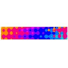Totally Trippy Hippy Rainbow Flano Scarf (large)