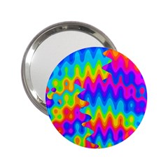Amazing Acid Rainbow 2 25  Handbag Mirrors