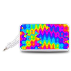 Amazing Acid Rainbow Portable Speaker (White)