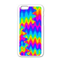 Amazing Acid Rainbow Apple Iphone 6 White Enamel Case