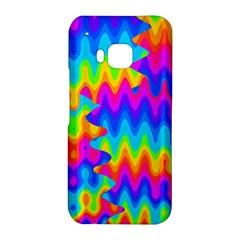Amazing Acid Rainbow HTC One M9 Hardshell Case