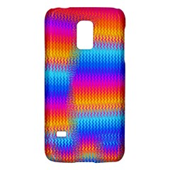 Psychedelic Rainbow Heat Waves Galaxy S5 Mini