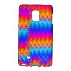 Psychedelic Rainbow Heat Waves Galaxy Note Edge
