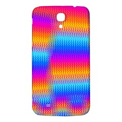 Psychedelic Rainbow Heat Waves Samsung Galaxy Mega I9200 Hardshell Back Case
