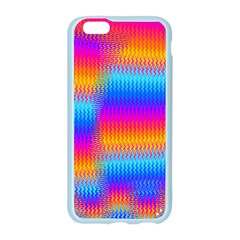 Psychedelic Rainbow Heat Waves Apple Seamless iPhone 6 Case (Color)