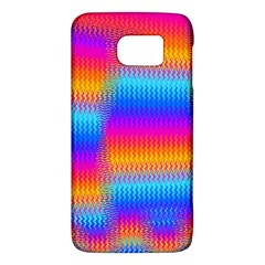Psychedelic Rainbow Heat Waves Galaxy S6